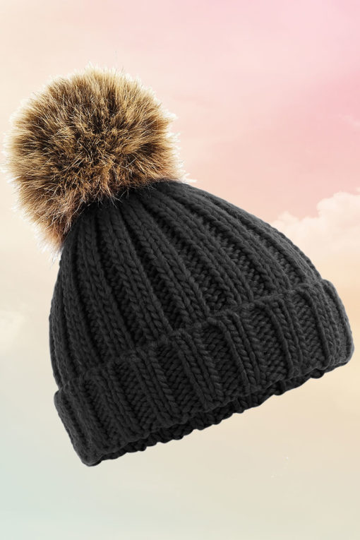 Black Bobble Hat