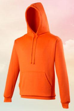 Funky Neon Orange Hoodie