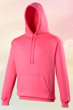 Funky Neon Pink Hoodie