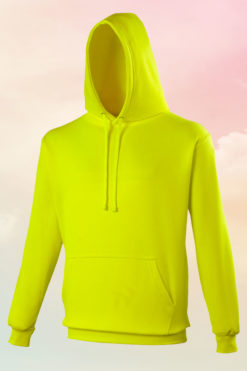 Funky Neon Yellow Hoodie