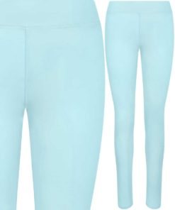 Girlie Cool Workout Mint Leggings by AWDis Just Cool