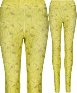 Girlie Kaleidoscope Lime Printed Legging by AWDis Just Cool