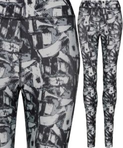 Girlie Monochrome Madness Printed Legging by AWDis Just Cool