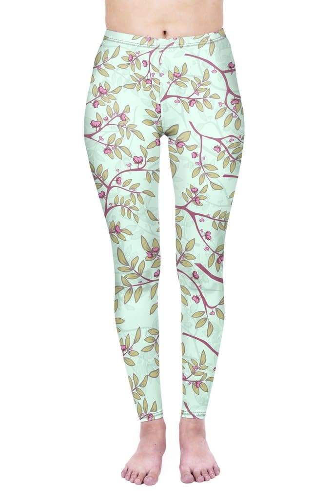 Hearts in Bloom Leggings