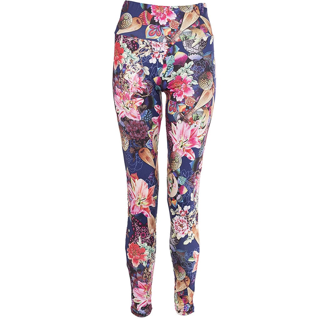 Lily Navy Floral Leggings