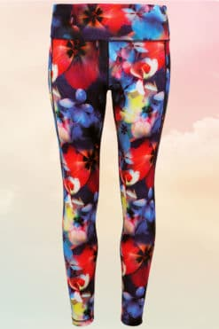 Performance Flower Leggings
