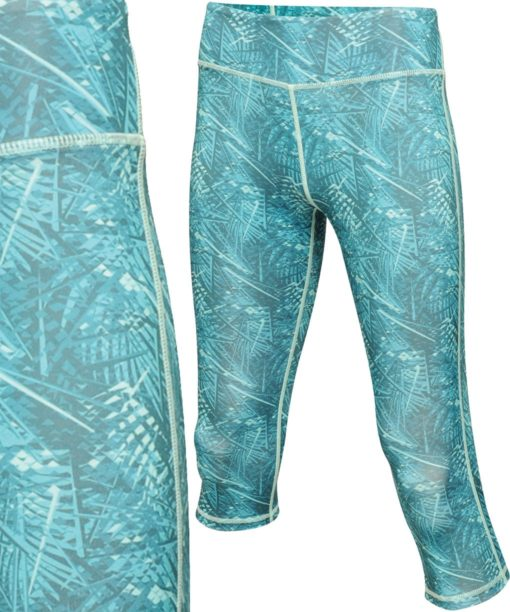 Regatta Womens Pincha Ceramic Print Three Quarter Leggings