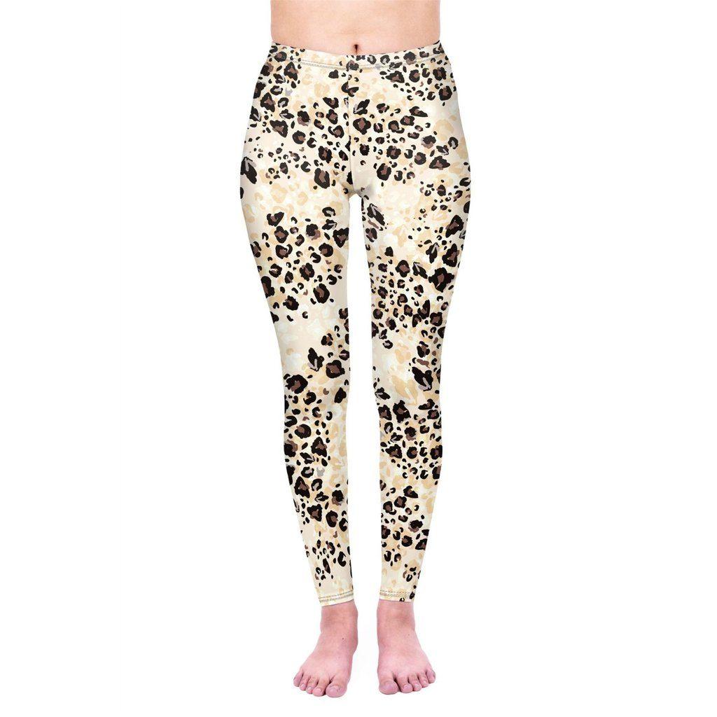Sandy Leopard Leggings