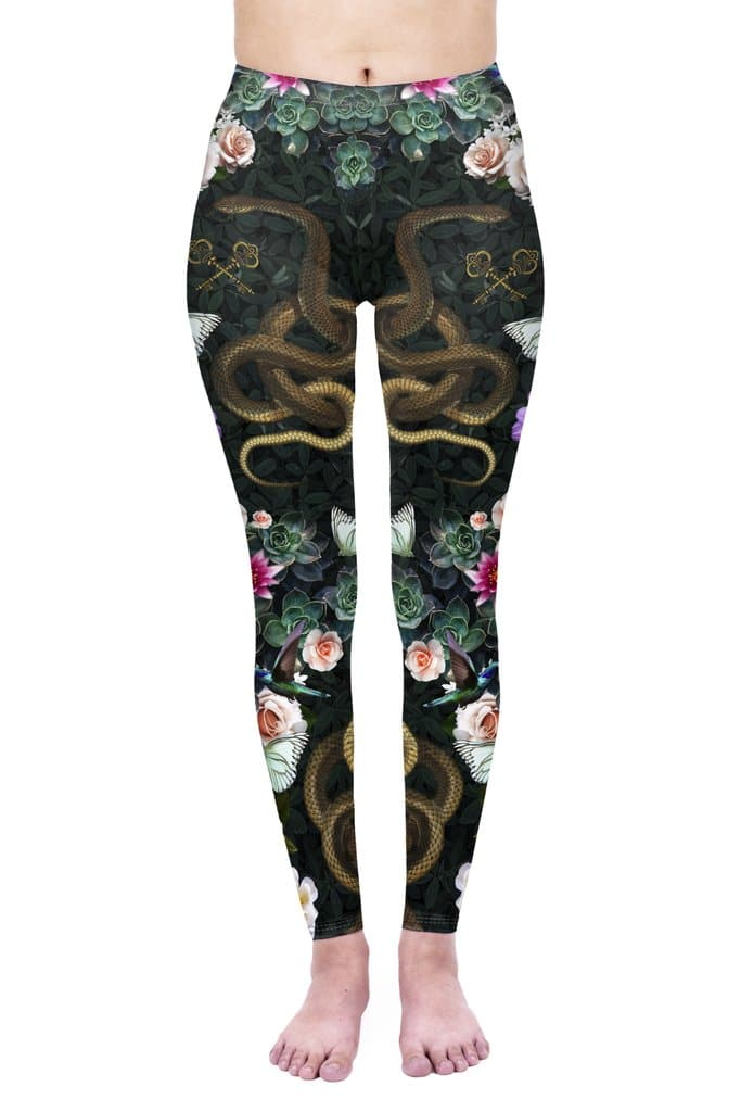 Secret Garden Leggings
