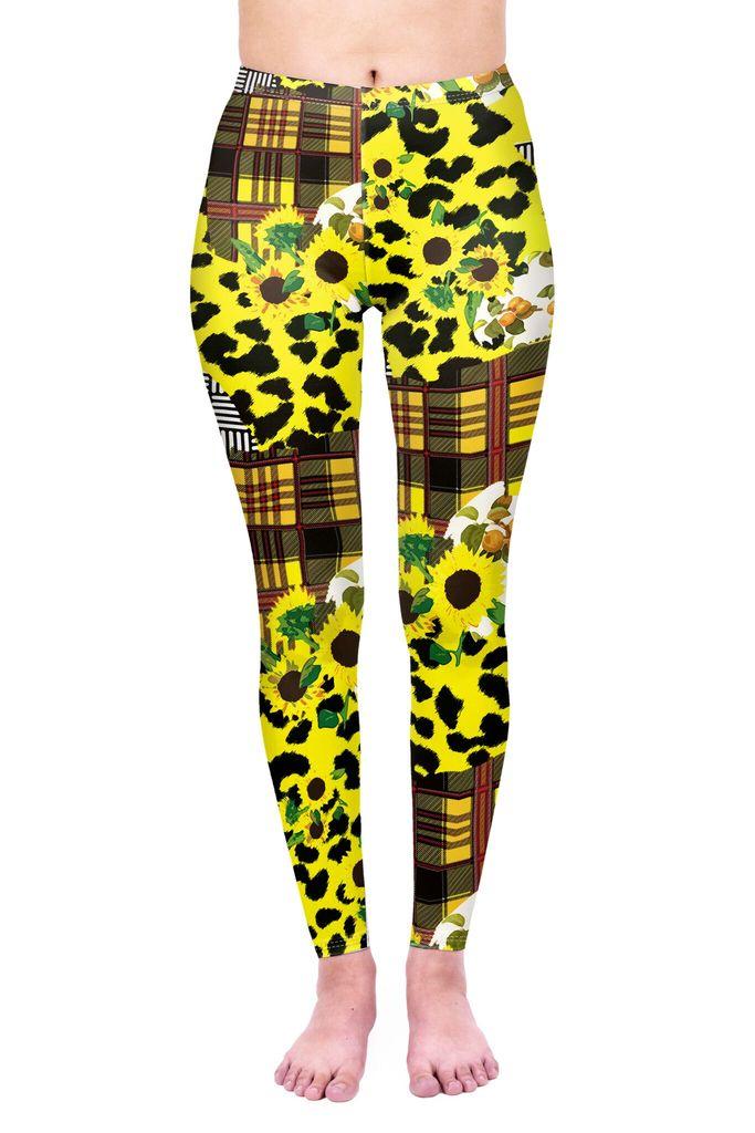Sunflower Leopard Leggings