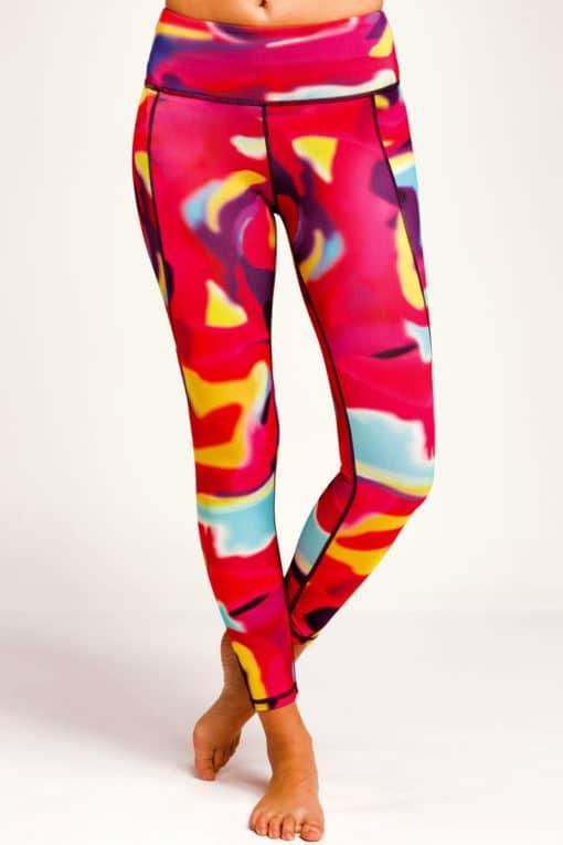 Womens Aurora Funky Gym Leggings