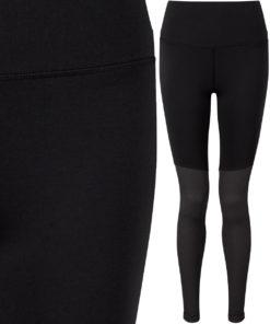 Womens Black Charcoal Yoga Leggings
