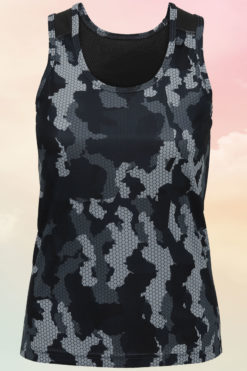 Women's Camo Charcoal Performance Vest
