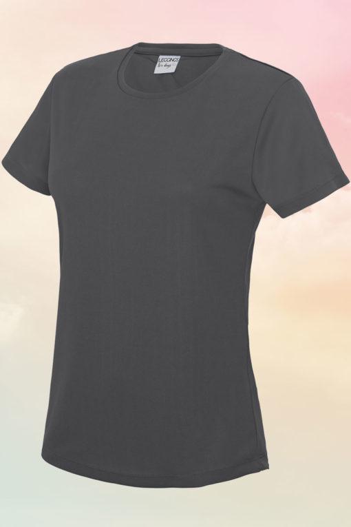Women's Charcoal Cool T-Shirt