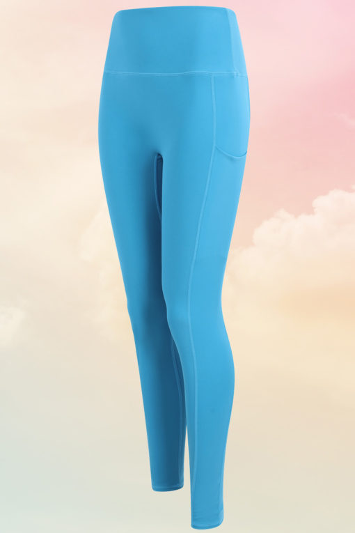 Womens Core Turquoise Gym Leggings