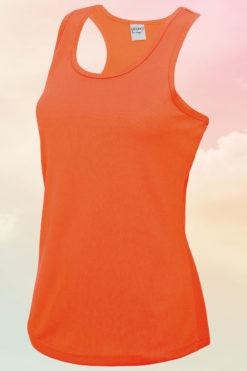 Women's Electric Orange Cool Vest