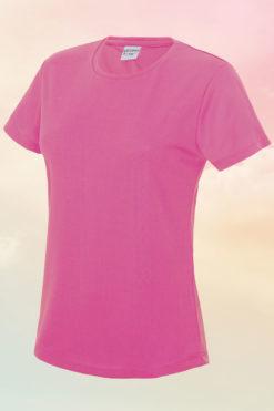 Women's Electric Pink Cool T-Shirt