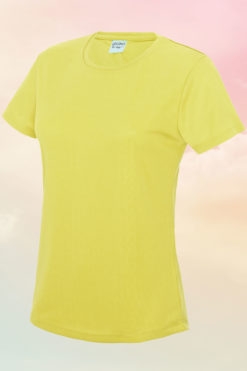 Women's Electric Yellow Cool T-Shirt