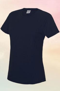 Womens Navy Cool T-Shirt