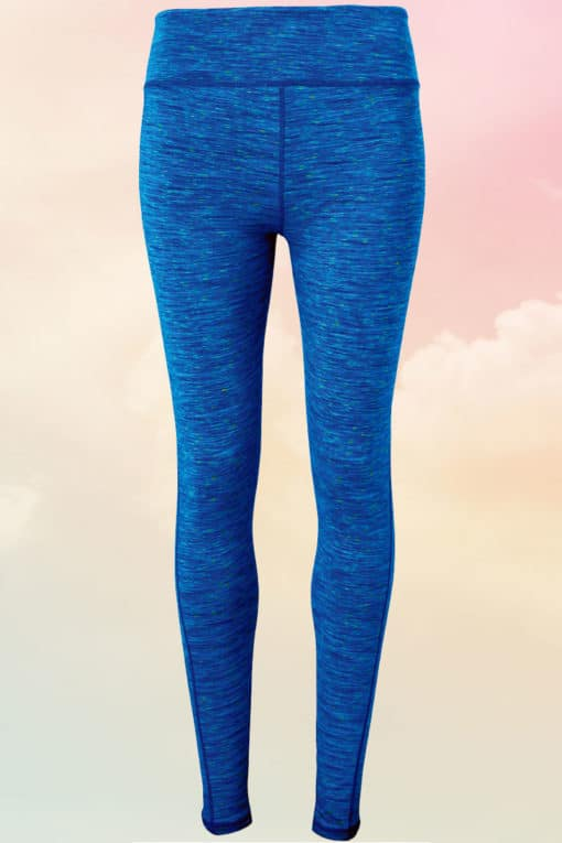 Womens Performance Space Sapphire Leggings