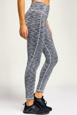 Women's Performance Space Silver Funky Gym Leggings