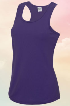 Womens Purple Cool Vest