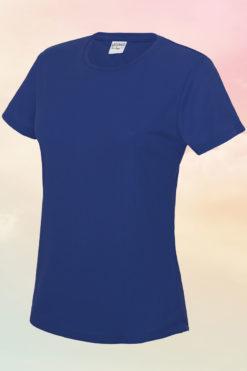Womens Royal Blue Cool T-Shirt