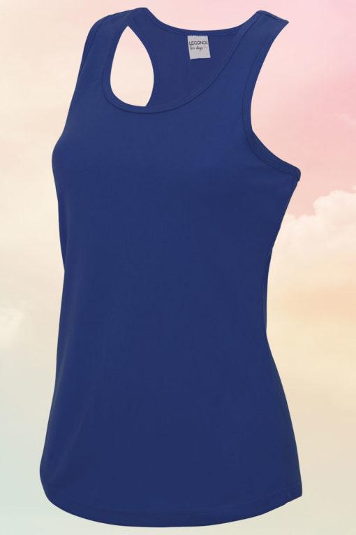 Womens Royal Blue Cool Vest