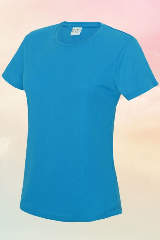 Women's Sapphire Blue Cool T-Shirt