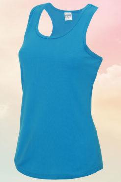 Women's Sapphire Blue Cool Vest