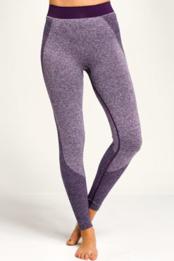 Women's Seamless 3D Fit Multi-Sport Sculpt Purple Leggings