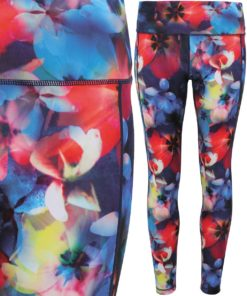 Womens TriDri Performance Flower Leggings Full Length