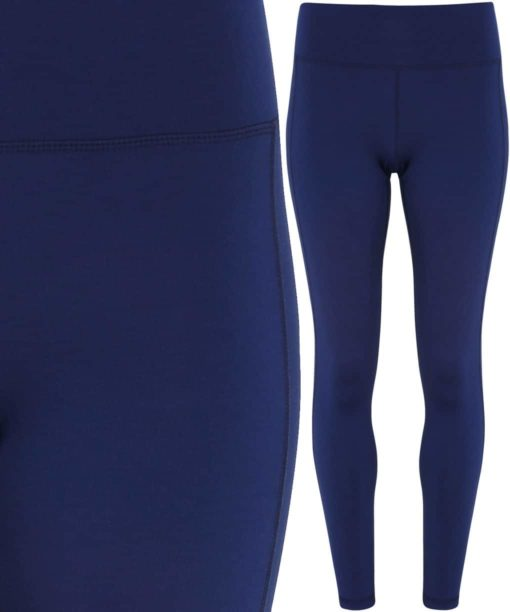 Womens TriDri Performance Navy Leggings