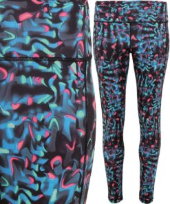 Womens TriDri Performance Neon Marine Leggings