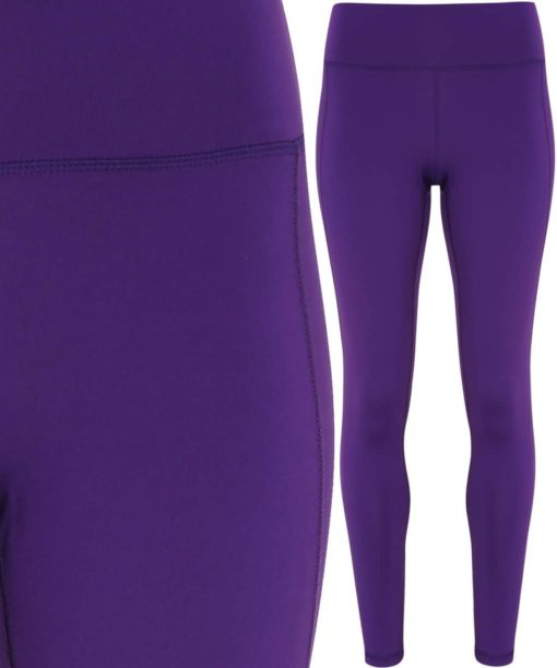 Womens TriDri Performance Purple Leggings