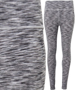 Womens TriDri Performance Space Silver Leggings