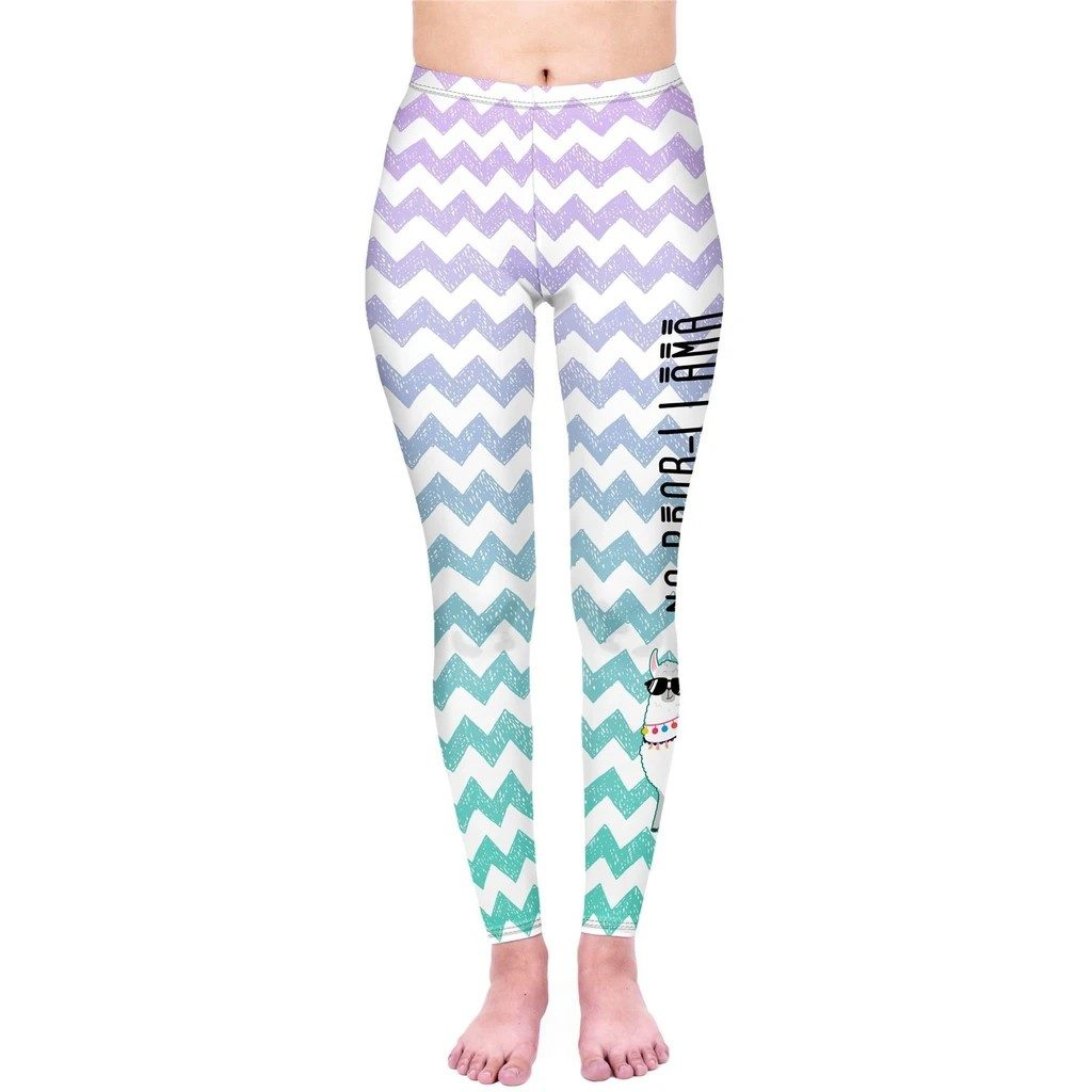 Zigzag No Probllama Leggings